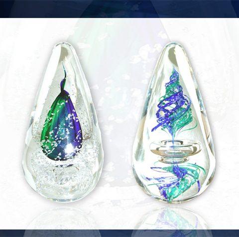 Kristallobjekte aus Glas